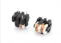 针对电路板不同尺寸,选择卧式共模电感和立式共模电感